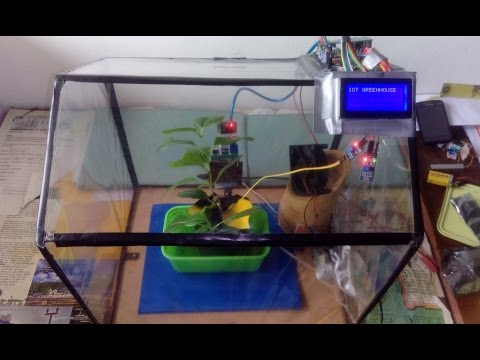 IOT Greenhouse (Embedded Project)