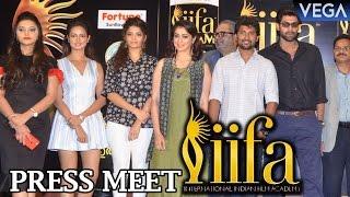 Celebrities @ IIFA Utsavam 2017 Press Meet