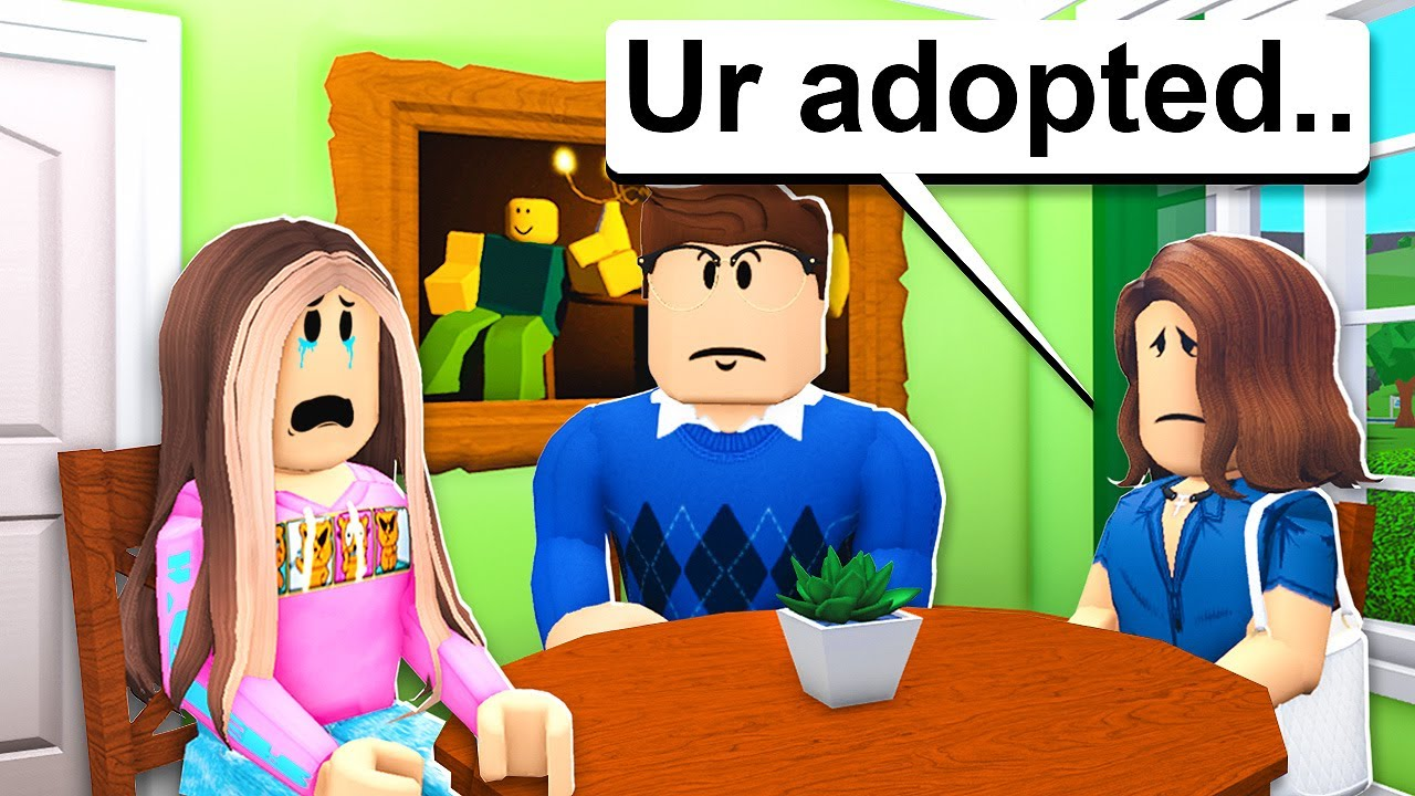 Download LITTLE KID Finds Out She Was ADOPTED In Roblox Bloxburg..