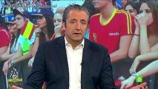 """Mundial 2014   España 0-2 Chile - Josep Pedrerol: """"Me da pena el ridículo de la selección"""""""