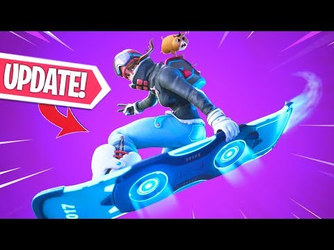NIEUWE UPDATE!! DRIFTBOARD ZIT IN DE GAME! NIEUWE GAMEMODES GAMEPLAY! Fortnite Battle Royale thumbnail