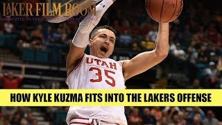 How Kyle Kuzma Fits In w/the Lakers