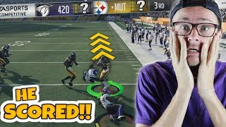 WILL THESE 2 HUGE TOUCHDOWNS BE ENOUGH FOR A COMEBACK!? Madden 18 Packed Out