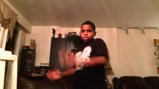 Dancer with Elijah hip hop rap