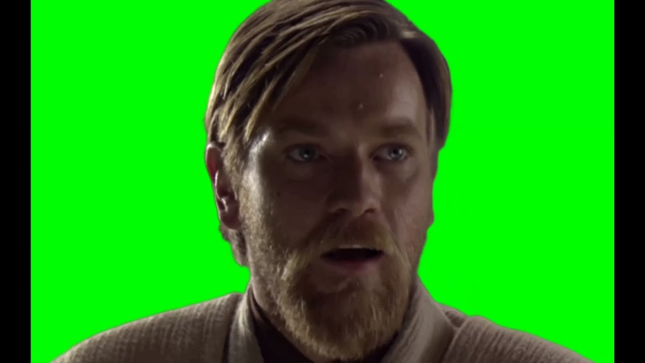Obi Wan Kenobi Hello There Green Screen Youtube