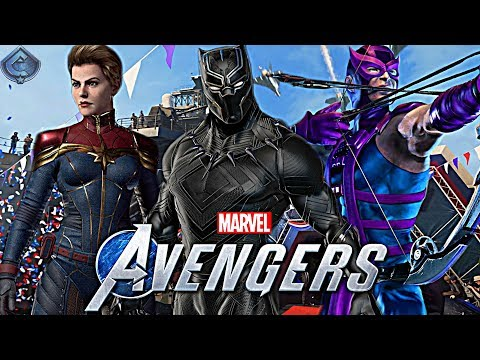 Marvel's Avengers Game - Top 10 Playable Characters Wishlist!