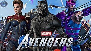 Marvel's Avengers Game - Top 10 Playable Characters Wishlist!