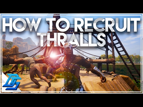 Conan Exiles - How To Capture A Thrall , How To Break and Recruit Thrall, Wheel of Pain