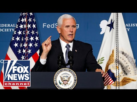 Pence hosts 'Make America Great Again!' event