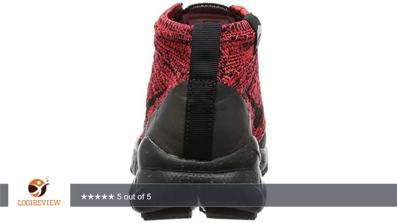 Nike Womens W Flyknit Trainer Chukka FSB Bright Crimson