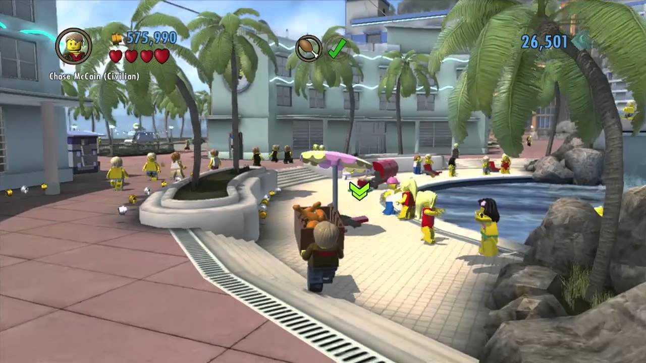 Lego City Undercover Gameplay Walkthrough Part 14 Ninja Thief Wii U Hd Youtube
