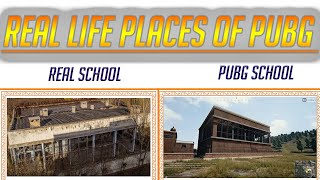 Pubg Real Life Places