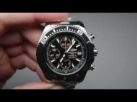 Breitling Superocean Chronograph II Automatic Men's Watch Model: A13341A8-BA85