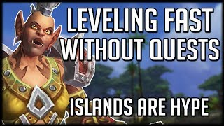 Level Up 110-120 Fast Without Questing - Perfect for Alts | WoW Battle for Azeroth