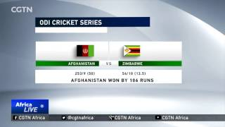 ODI Cricket Series: Afghanistan raze Zimbabwe for 54 to seal series