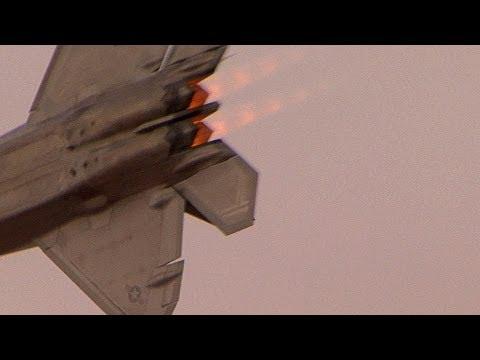 2012 St. George Thunder Over Utah Air Show (Sat.) - F-22 Raptor Demo Team
