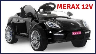 Merax 12V Ride On Car Porsche Style Sports Car, Baby Toys