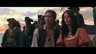"""Появление """"Чёрной Жемчужины"""" из бутылки / Пираты Карибского моря 5"""