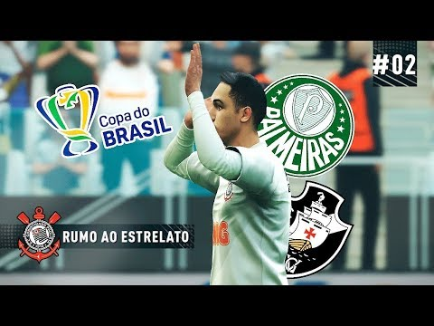 DERBY PAULISTA NA COPA DO BRASIL - RUMO AO ESTRELATO 02  PES 2019