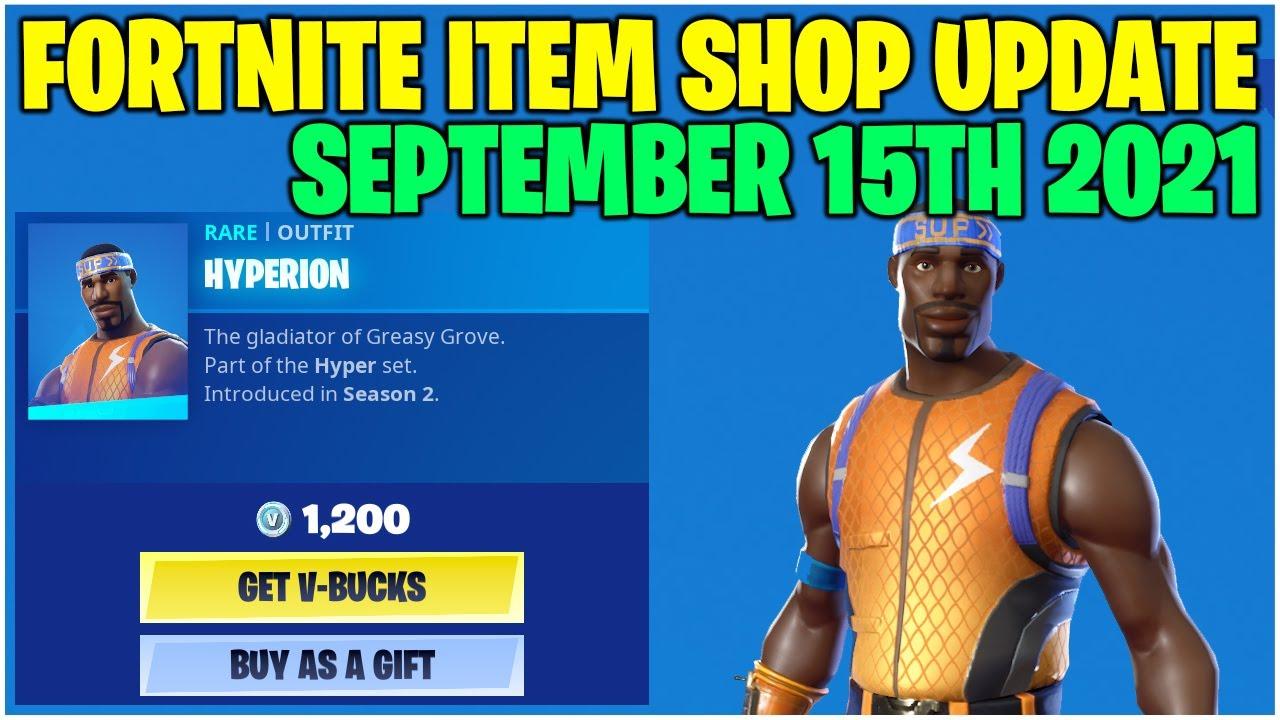 Fortnite Item Shop 14 *RARE* ITEM SHOP ITEMS RETURN! [September 15th, 2021] (Fortnite Battle Royale)
