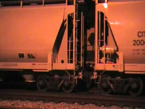 CSX yard work at Connellsville,PA Travel Video