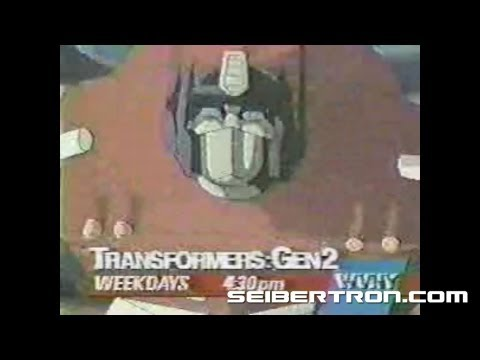 Transformers G2 Cartoon Commercial Generation 2 1993 #2