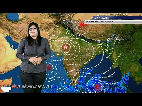 Weather forecast for November 6, 2015: Peninsular India to receive light rain on Friday.