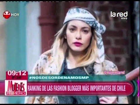 Ranking de las fashion blogger más importantes de Chile