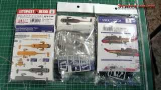 Westland Seaking scale models SWEET 144 scale