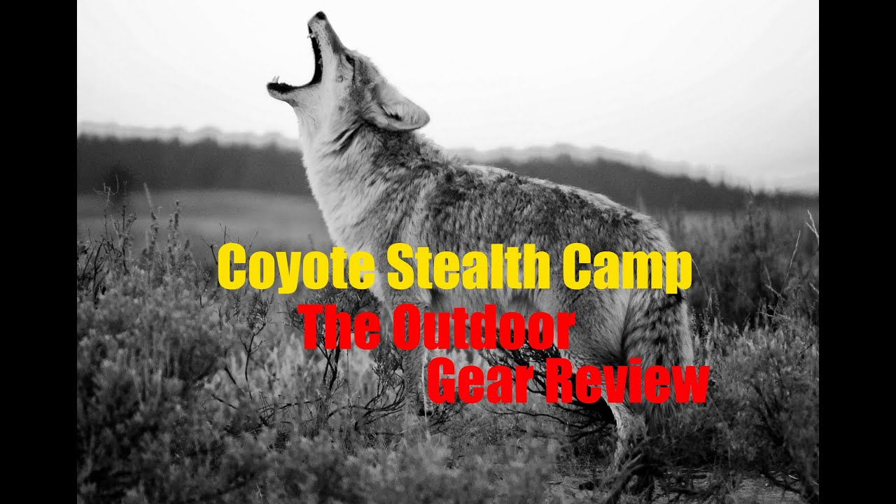 Coyote Stealth Camp Overnight Adventure The Outdoor