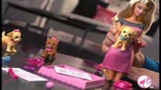 2010 º BARBIE POTTY TRAINING PUPS doll commercial :HQ: