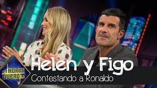 Luis Figo contesta al comentario de Ronaldo sobre su mujer - El Hormiguero 3.0