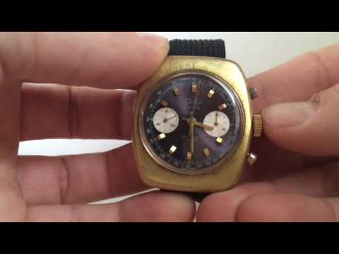 Vintage Difor Suisse Chronograph Men's Watch with Landeron 149 from 1960s