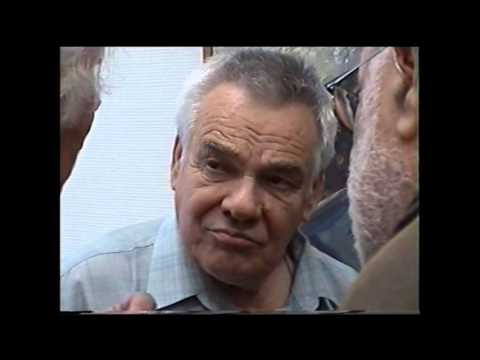 Открытие выставки Льва Тюленева, Москва, Кузнецкий мост 20, апрель 2006г.