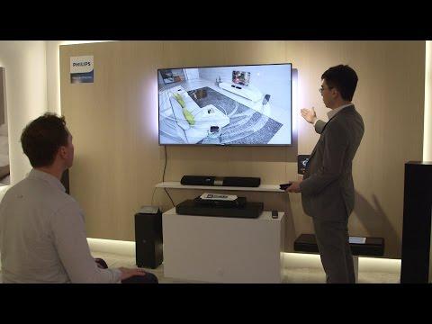 Promoted: Philips Fidelio B5 wireless surround soundbar speaker – CES 2015