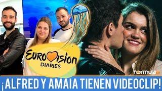"""¡Alfred y Amaia ya tienen videoclip de """"Tu canción""""! - Eurovisión Diaries"""