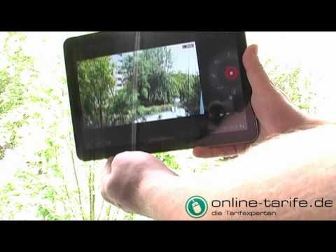 Samsung Galaxy Tab 10.1v im Test von online-tarife.de