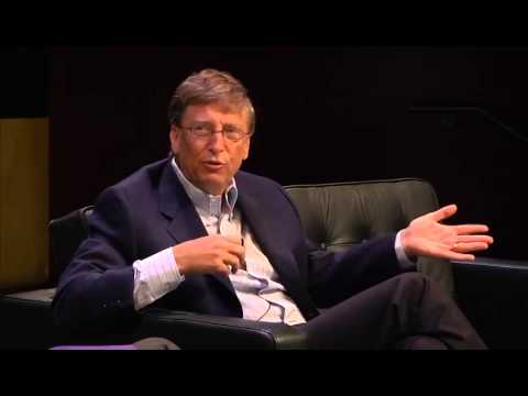 Bill Gates at the WIRED Conference