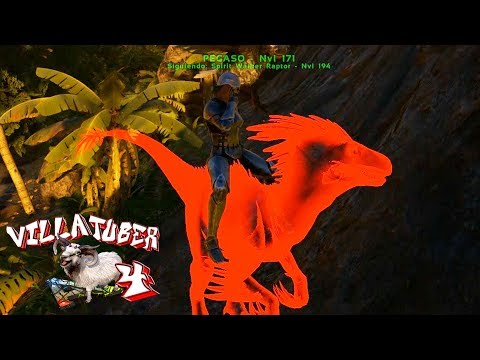 UN NUEVO MUNDO! POR FIN SUPER DINOS! - VillaTuber4 #22 - ARK: Survival Evolved