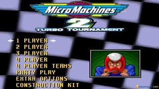 Micro Machines 2 special edition gameplay (PC Game, 1995)