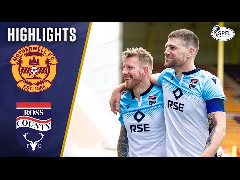 Motherwell Ross County Goals And Highlights