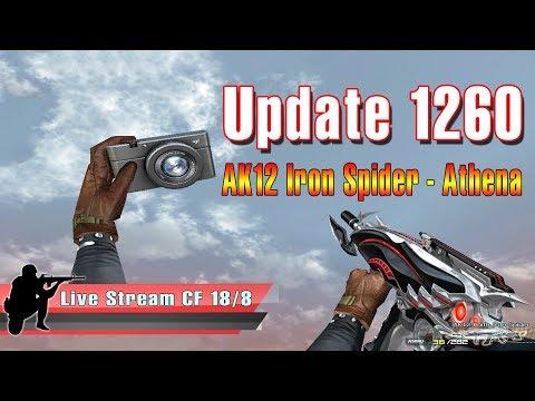 🔴 Test Update AK-12 Iron Spider / Nhân vật VIP Athena - Quang Brave