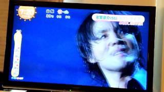 めざましテレビの氷室京介さんニュースその2です。 LAST GIGS特集.
