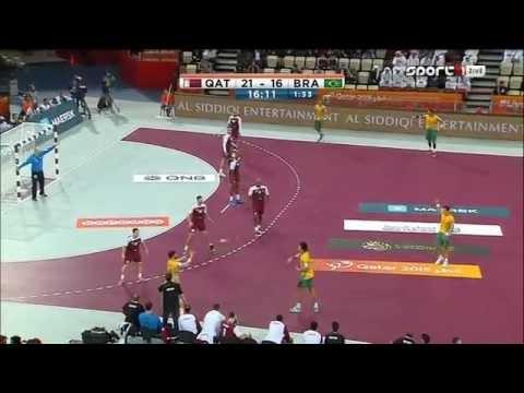 █▬█ Qatar vs Brazil (Second Half) 24th Men's Handball World Championship 2015/01/15