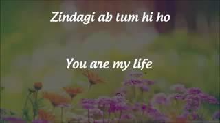 Gambar cover Tum Hi Ho  Lyrics  English Translation   Aashiqui 2  2013 www stafaband co