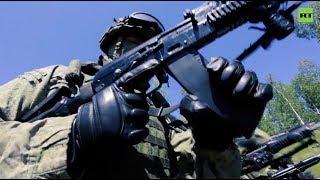 В Тамбове проходят учения женского спецназа