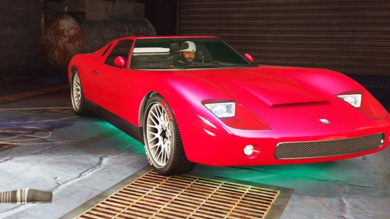 Gta V Pimp My Ride Pegassi Monroe Lamborghini Miura Car Tuning