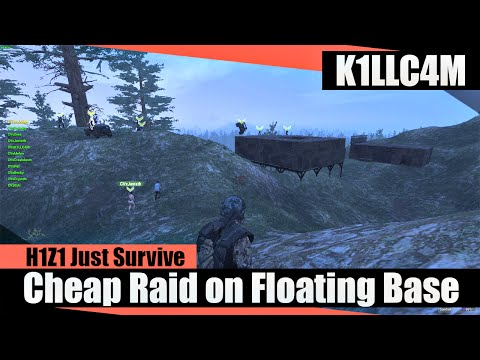 cheap raid on floating shelter base triumph disappointment h1z1