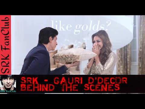Shah Rukh Khan Gauri Khan D 39 Decor Behind The Scenes