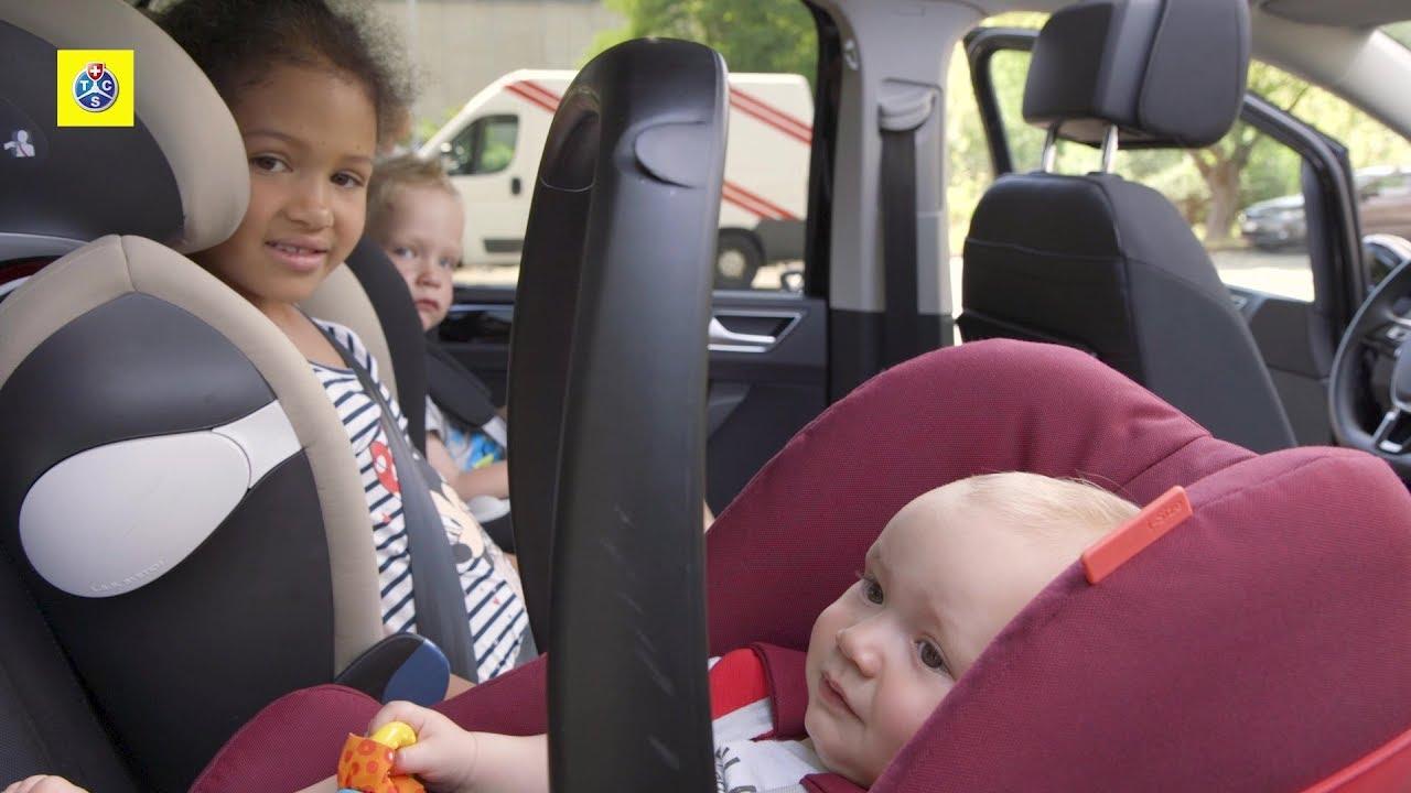 tcs-test: kindersitze im auto - youtube
